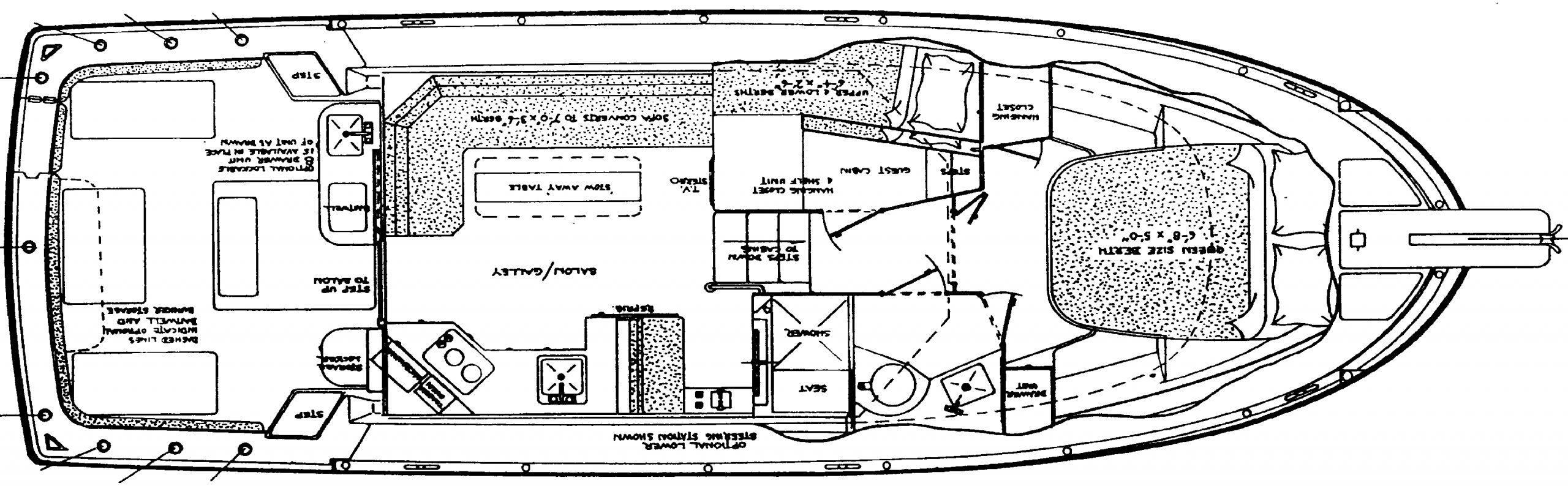 Albin 35 TE Floor Plan 2