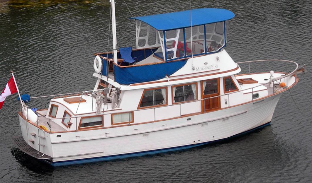 Albin 40 Trawler