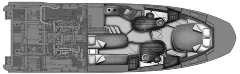 Azimut 40S Floor Plan 2