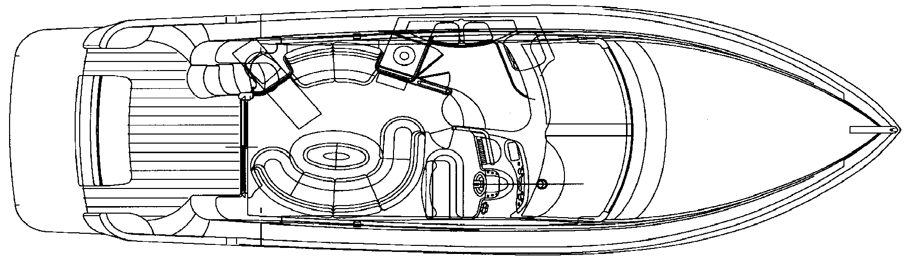 42 Flybridge Floor Plan 2
