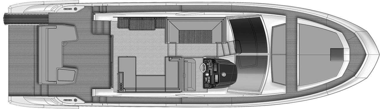 50 Flybridge Floor Plan 2