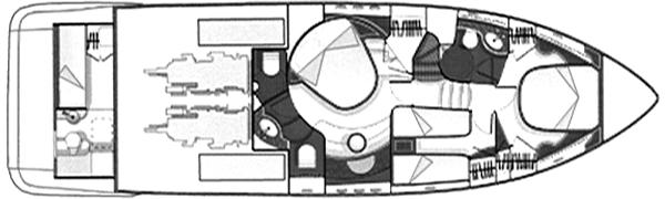 Azimut 55 Evolution Floor Plan 2