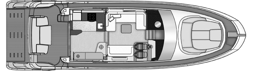 55 Flybridge Floor Plan 2