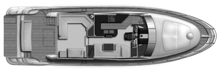 58 Flybridge Floor Plan 2