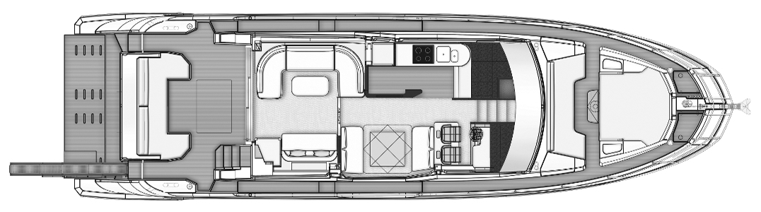 60 Flybridge Floor Plan 2