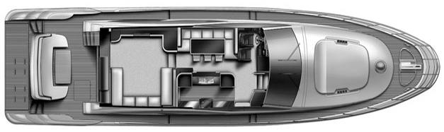70 Flybridge Floor Plan 2