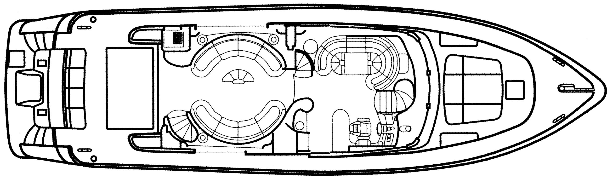 70 Sea Jet Floor Plan 2