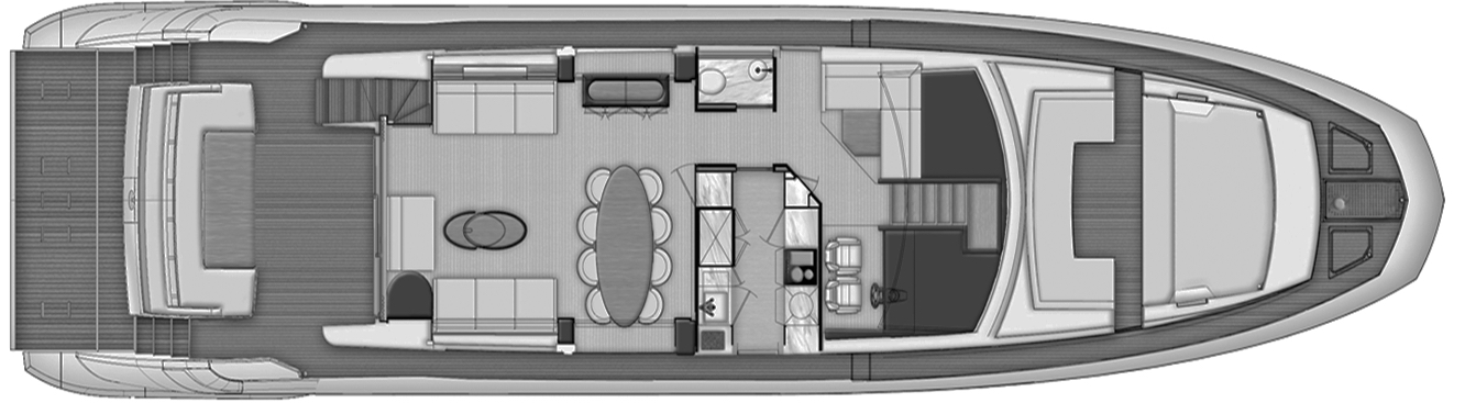 80 Flybridge Floor Plan 2