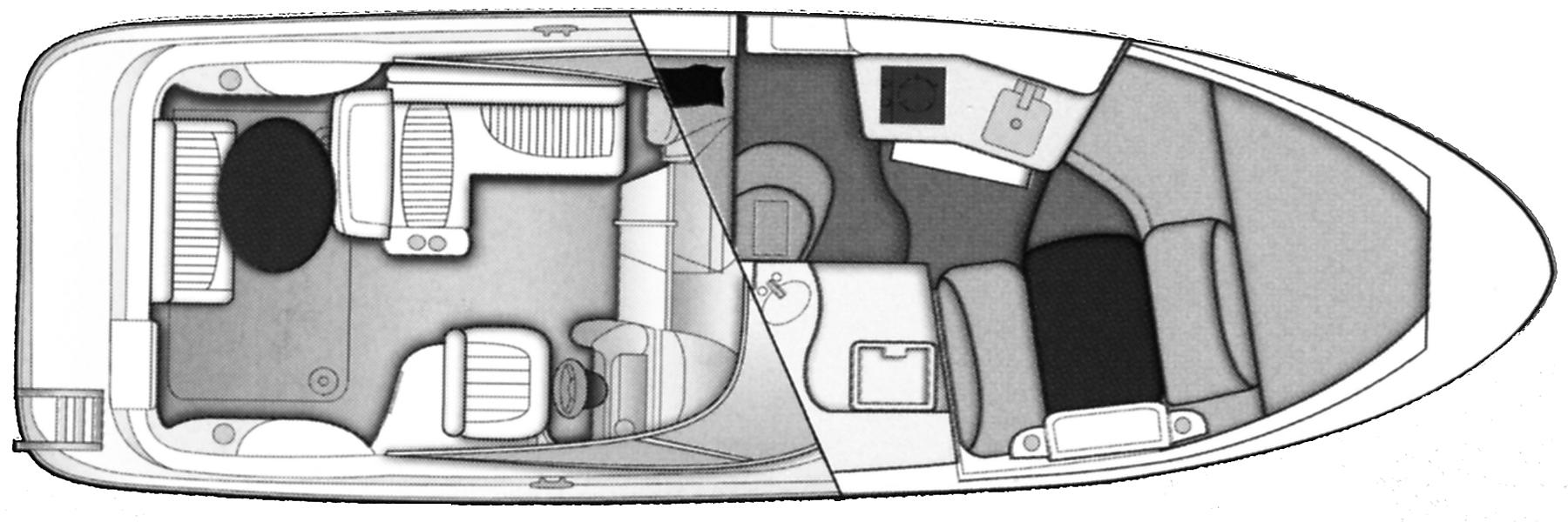 275 SB Cruiser Floor Plan 1