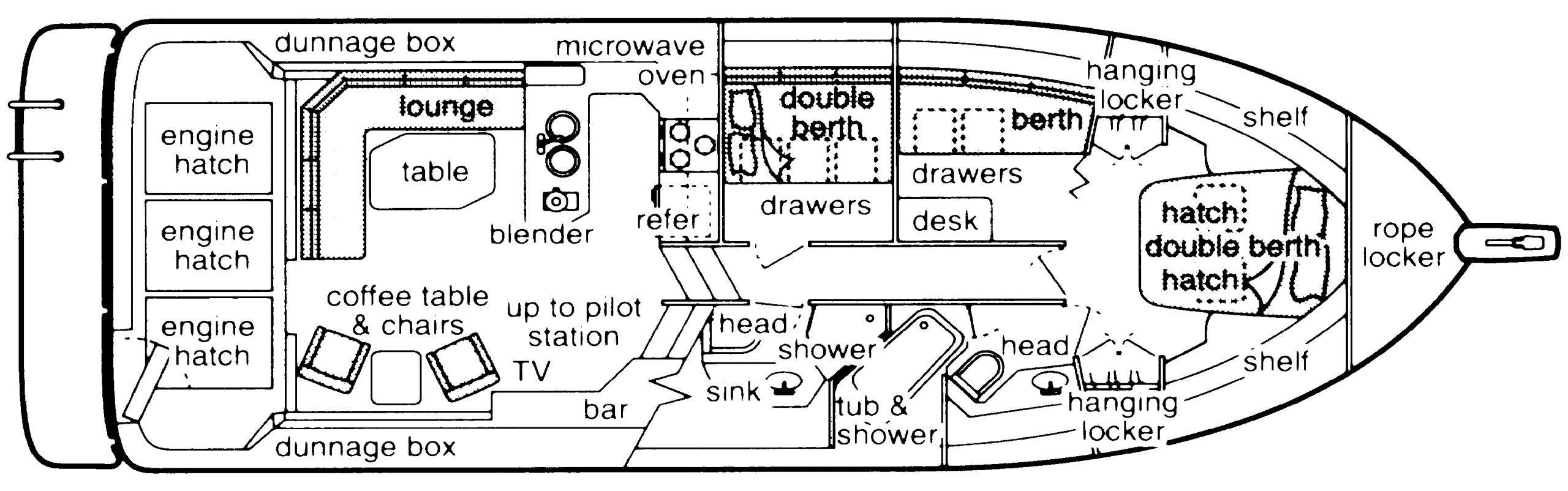 4550-4588 Pilothouse Floor Plan 1