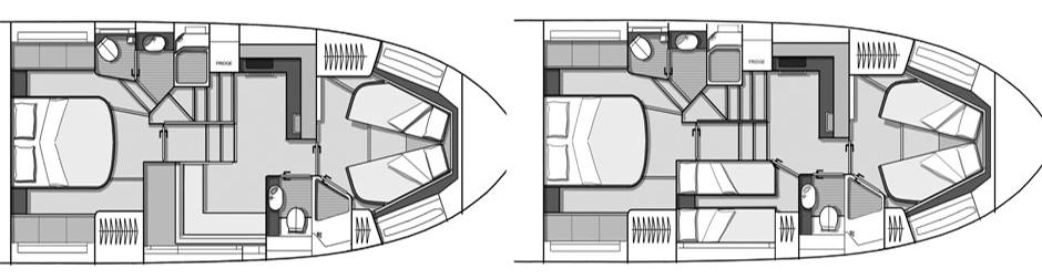 Beneteau Gran Turismo 50 Floor Plan 2