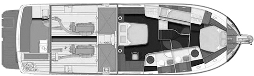 Beneteau Swift Trawler 52 Floor Plan 2