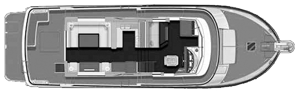 Swift Trawler 52 Floor Plan 2
