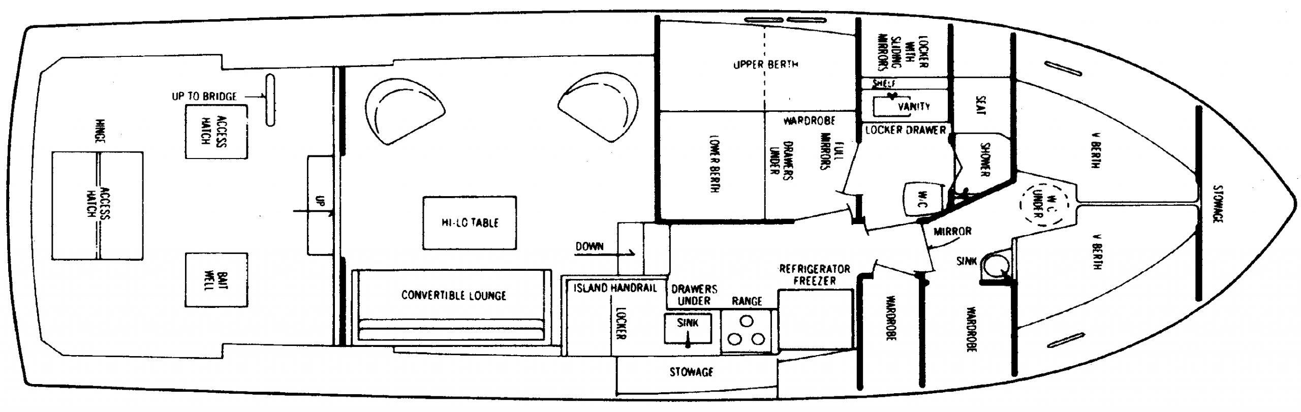 42 Convertible Floor Plan 2