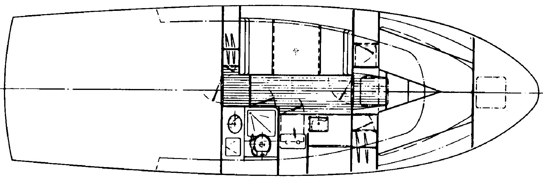 Black Watch 36 Flybridge Floor Plan 2