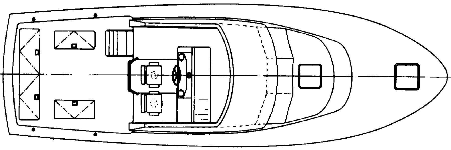 36 Flybridge Floor Plan 2