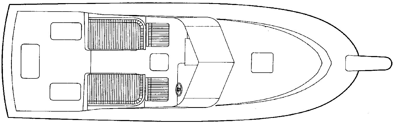 Blackfin 29 Combi Floor Plan 2