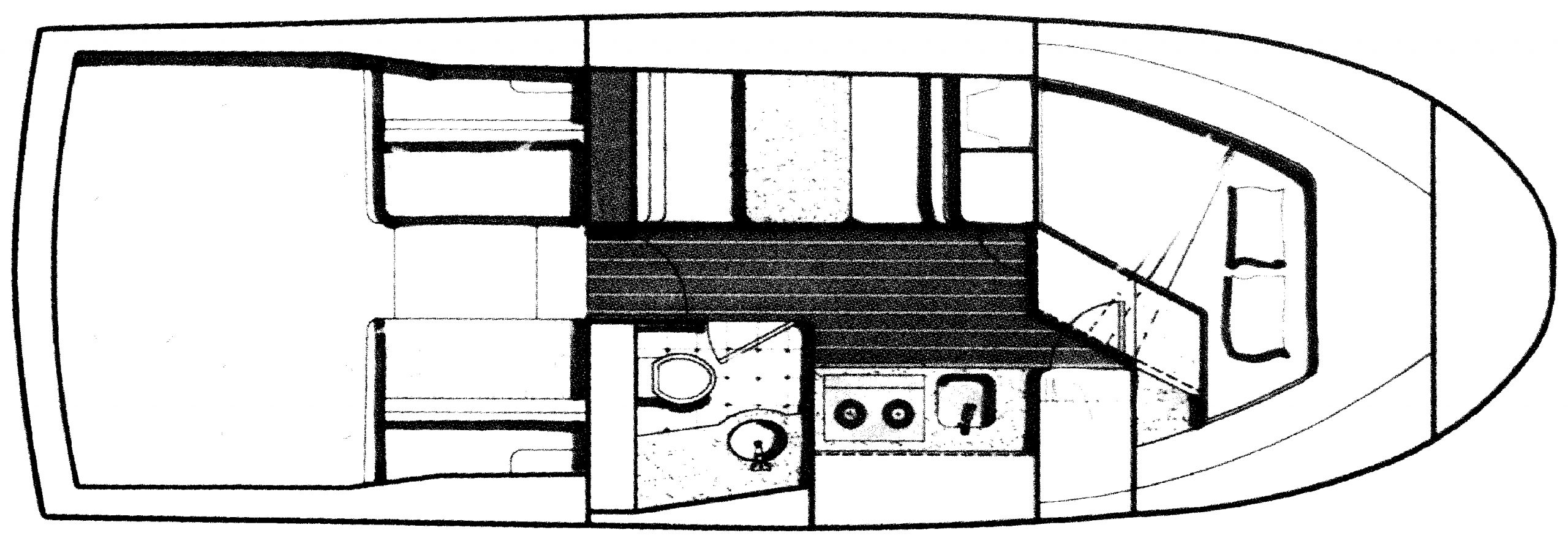 Blackfin 29 Flybridge Floor Plan 2