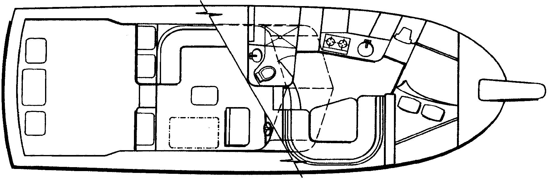 Blackfin 36-38 Combi Floor Plan 2