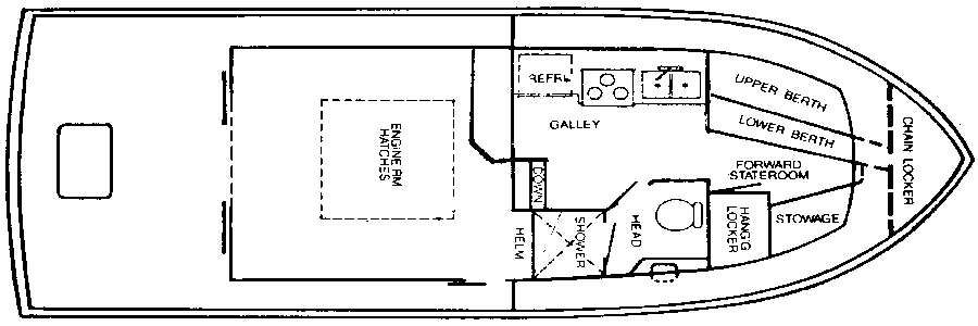 Californian 34 LRC Floor Plan 2