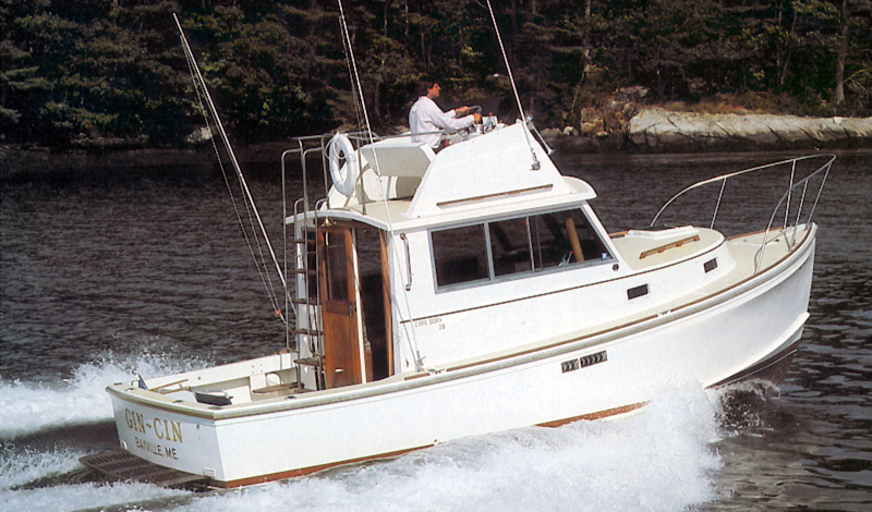 Cape Dory 28 Flybridge Cruiser