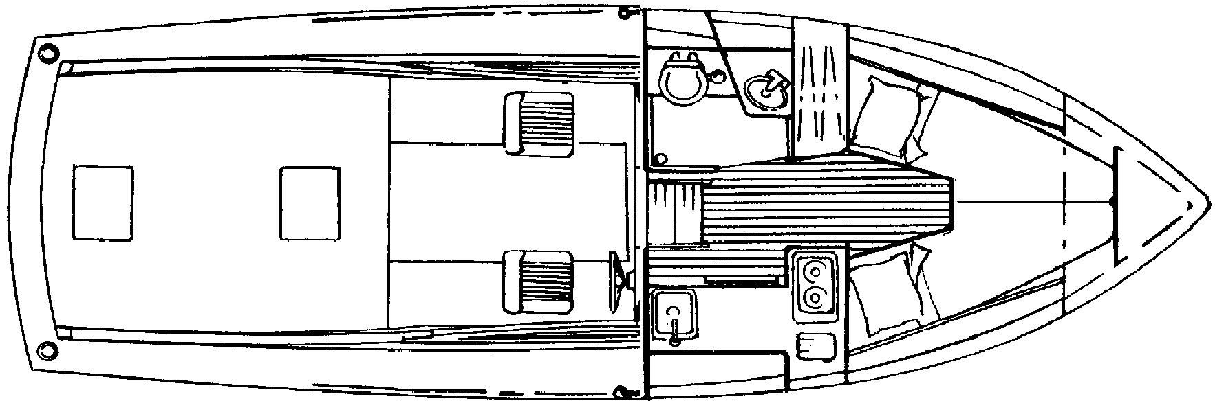 28 Open Fisherman Floor Plan 1