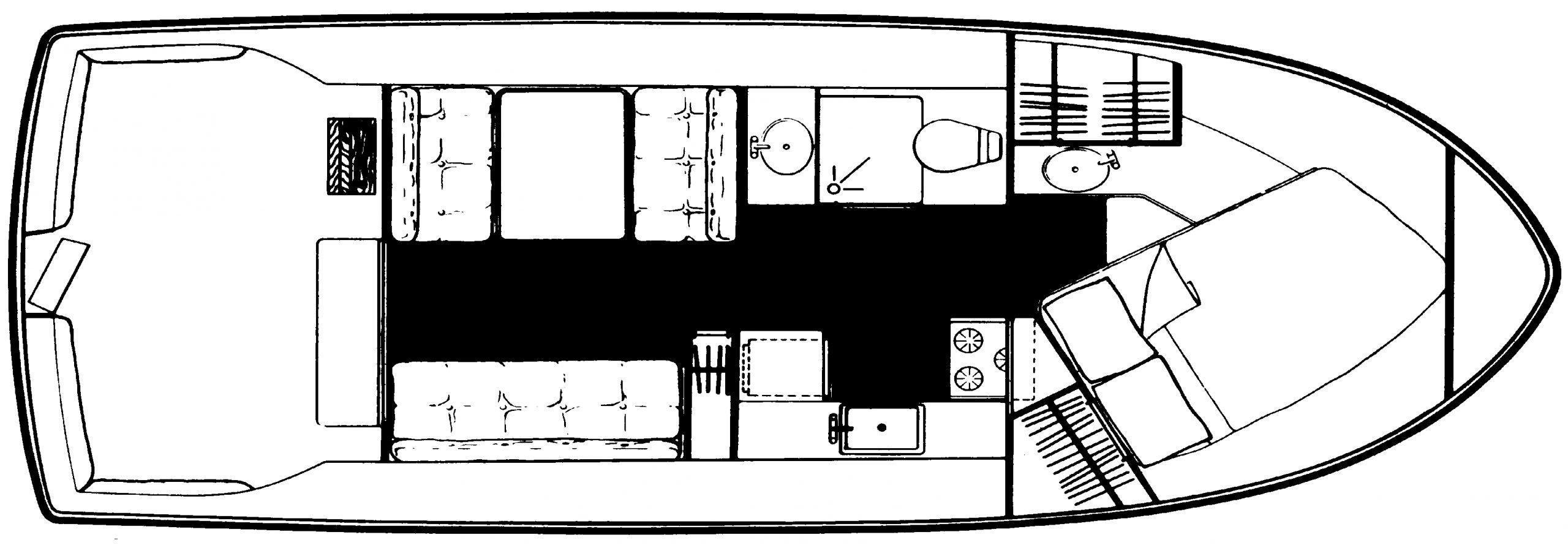 2827 Voyager; 2897 Mariner Floor Plan 2