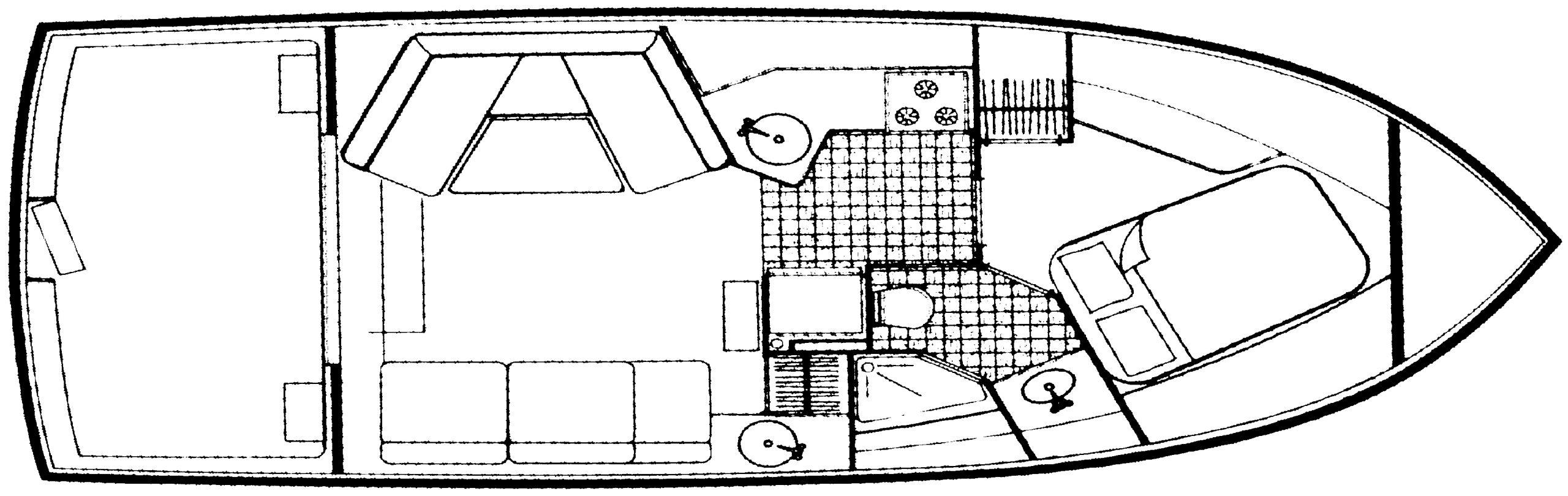 3297 Mariner; 330 Mariner Floor Plan 1
