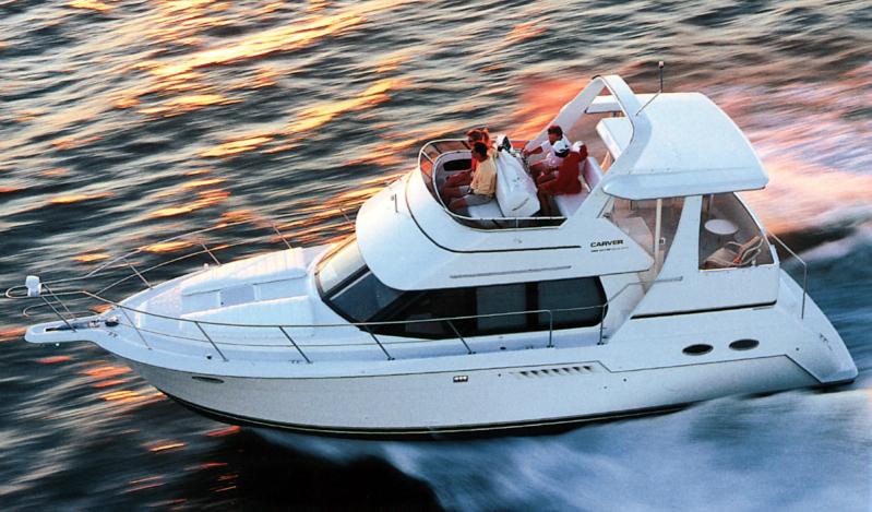 Carver 355-356 Motor Yacht
