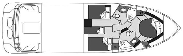 Carver 46 Voyager Floor Plan 2