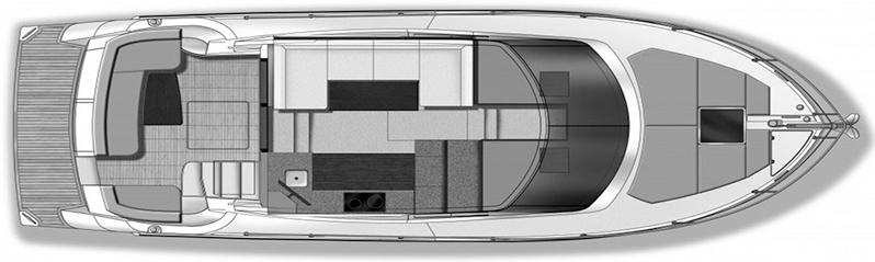 C34 Command Bridge Floor Plan 2