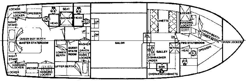 CHB 48 Seamaster MY Floor Plan 2
