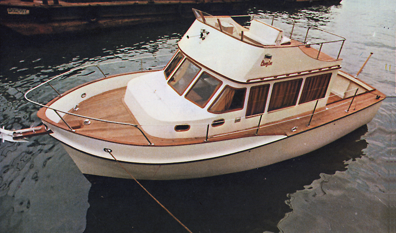 Cheoy Lee 32 Trawler