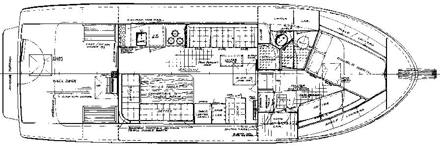 35 Trawler Floor Plan 1