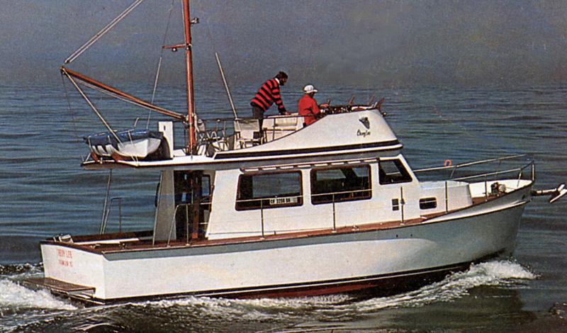 Cheoy Lee 35 Trawler