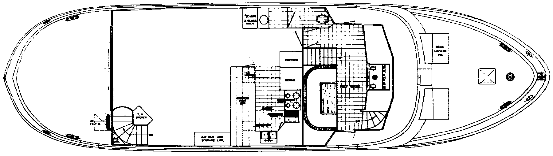 66 Long Range Cruiser Floor Plan 2