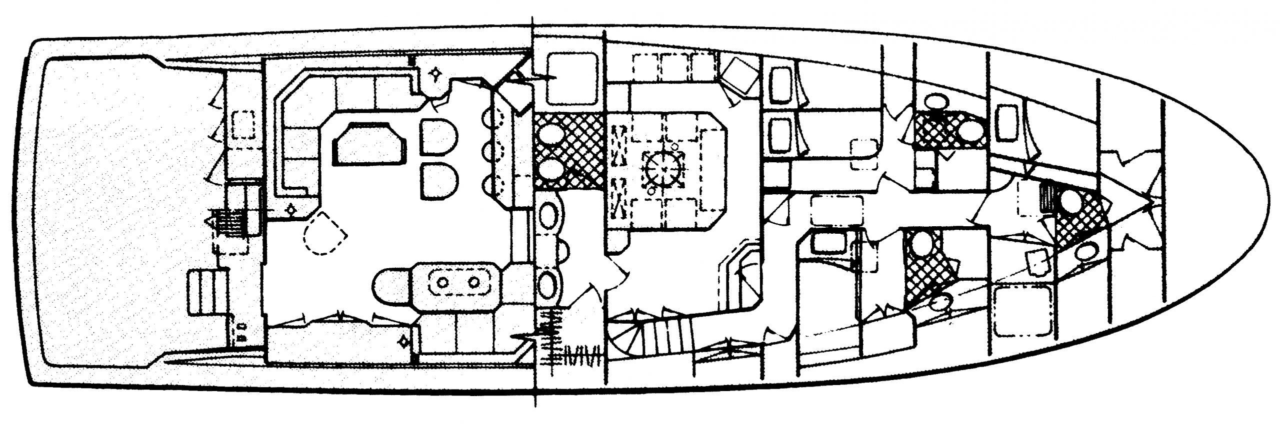 70 Sportfisherman Floor Plan 2