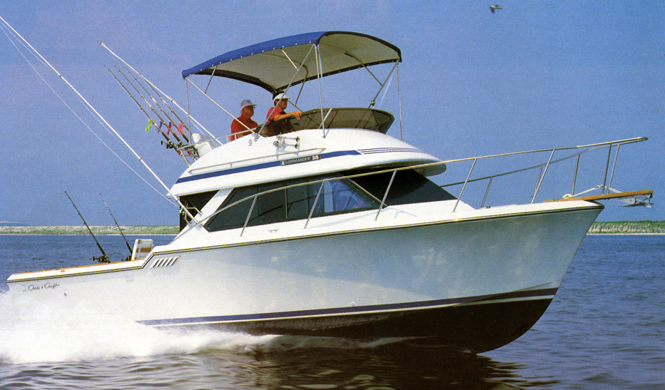 Chris Craft 315 Commander