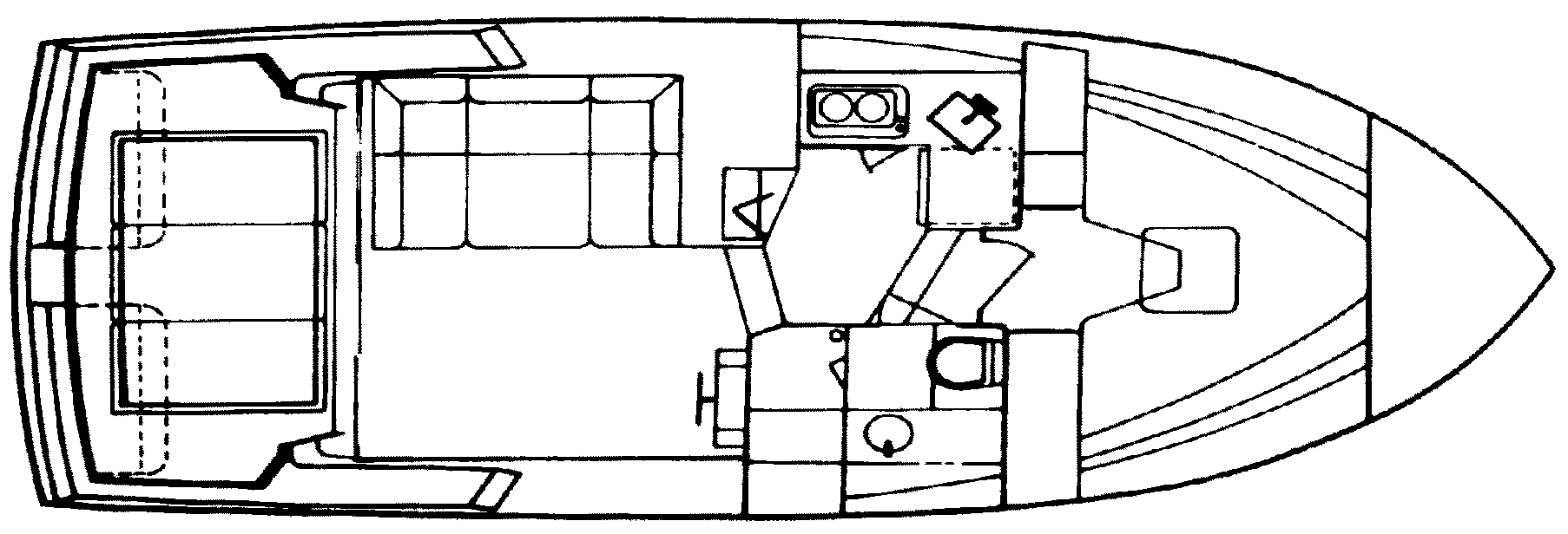 320 Amerosport Sedan Floor Plan 1