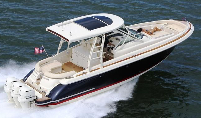 Chris Craft 36 Launch
