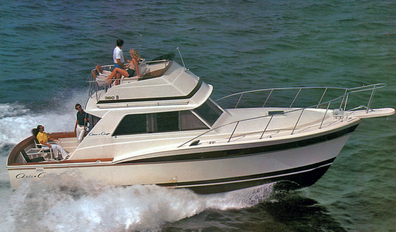 Chris Craft 36 Sports Cruiser; 36-360 Commander