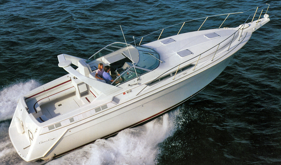 Chris Craft 370 Amerosport; 360 Express