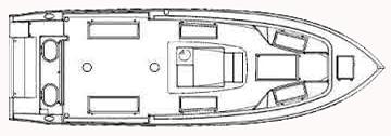 296 Center Console Floor Plan 1