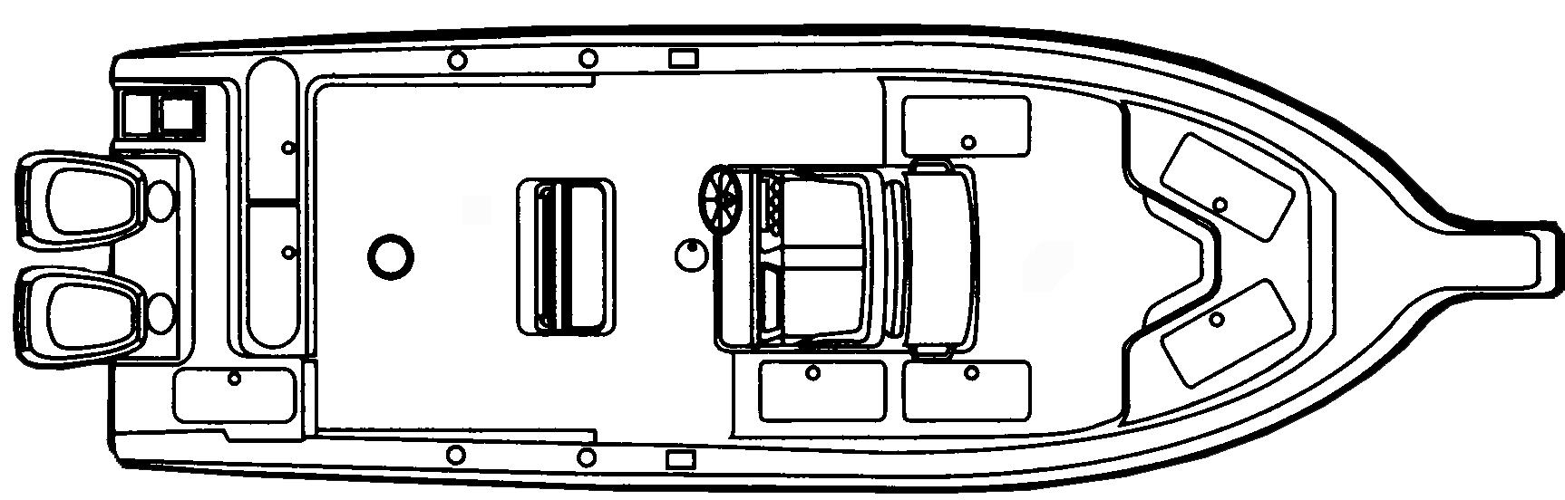 314 Center Console Floor Plan 1