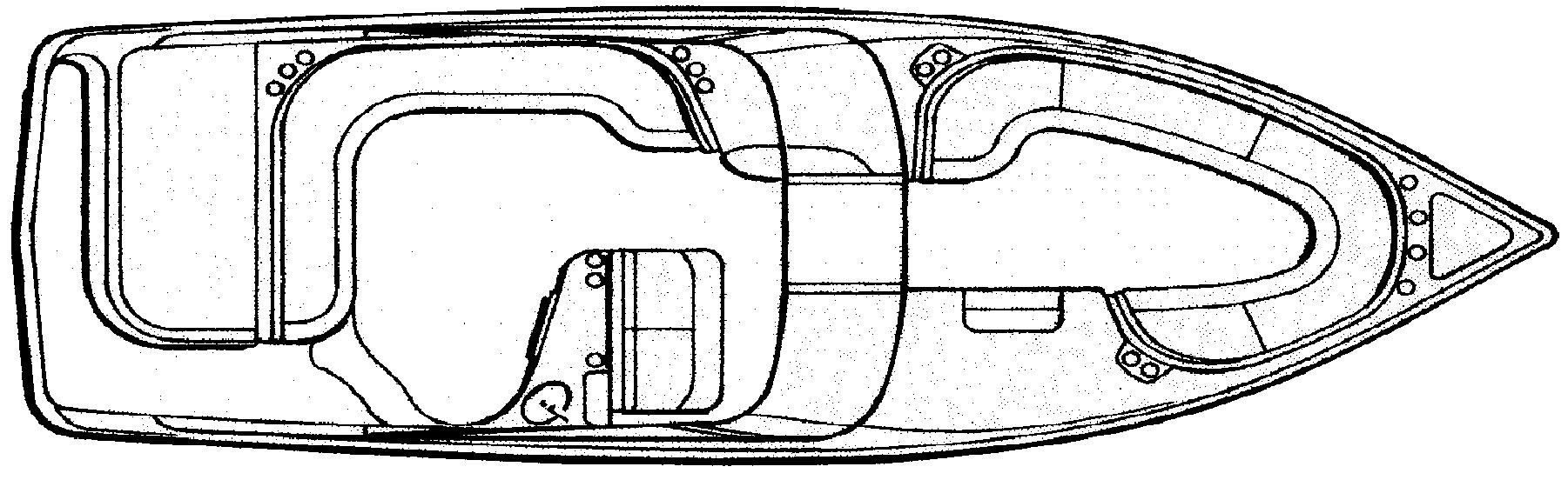 288 Bowrider Floor Plan 1