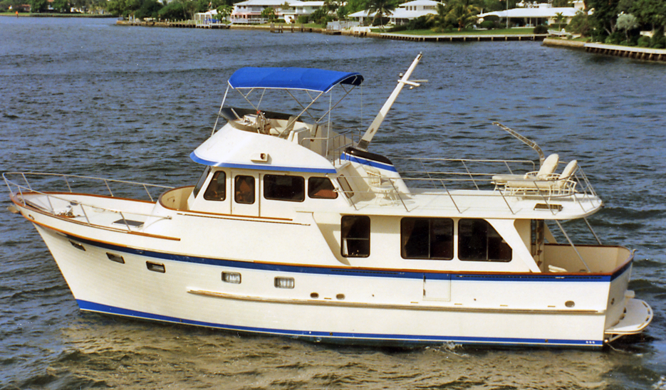 DeFever 49 Pilothouse (Hard Chine)