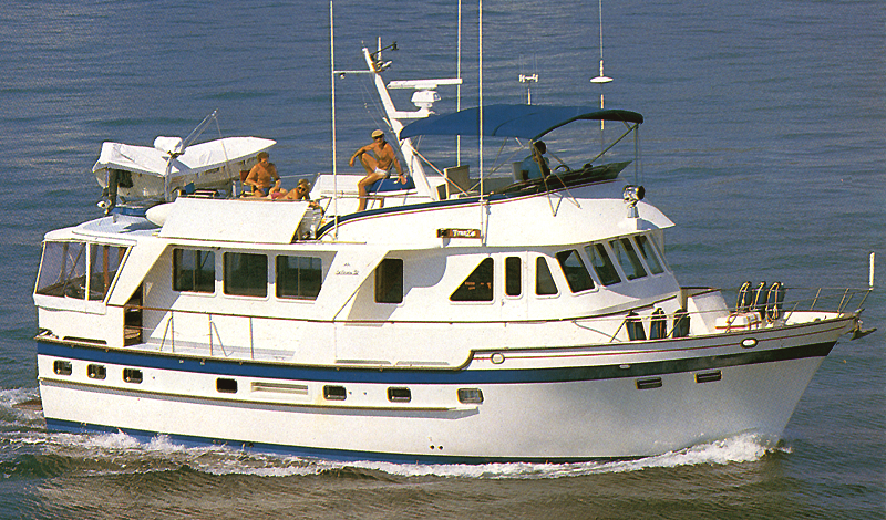 DeFever 52 Offshore Cruiser