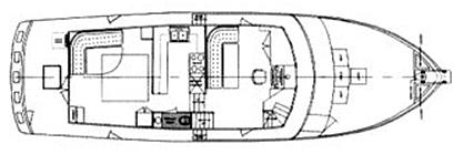 56 Pilothouse Floor Plan 2