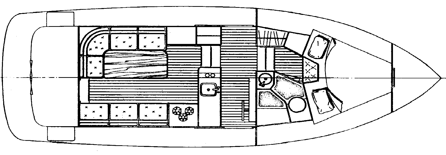 32 Pilothouse Floor Plan 1