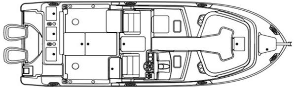280 CX Floor Plan 1